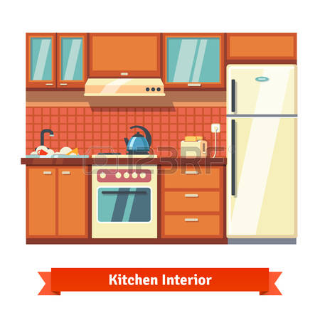 2,280 Kitchen Cabinet Stock Vector Illustration And Royalty Free.