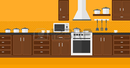 34,563 Modern Kitchen Stock Vector Illustration And Royalty Free.