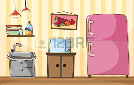 114,486 Kitchen Background Stock Illustrations, Cliparts And.
