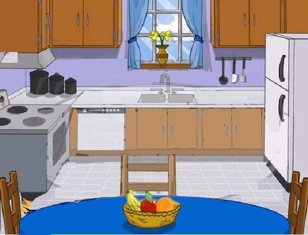 Parts of the house kitchen clipart 2.