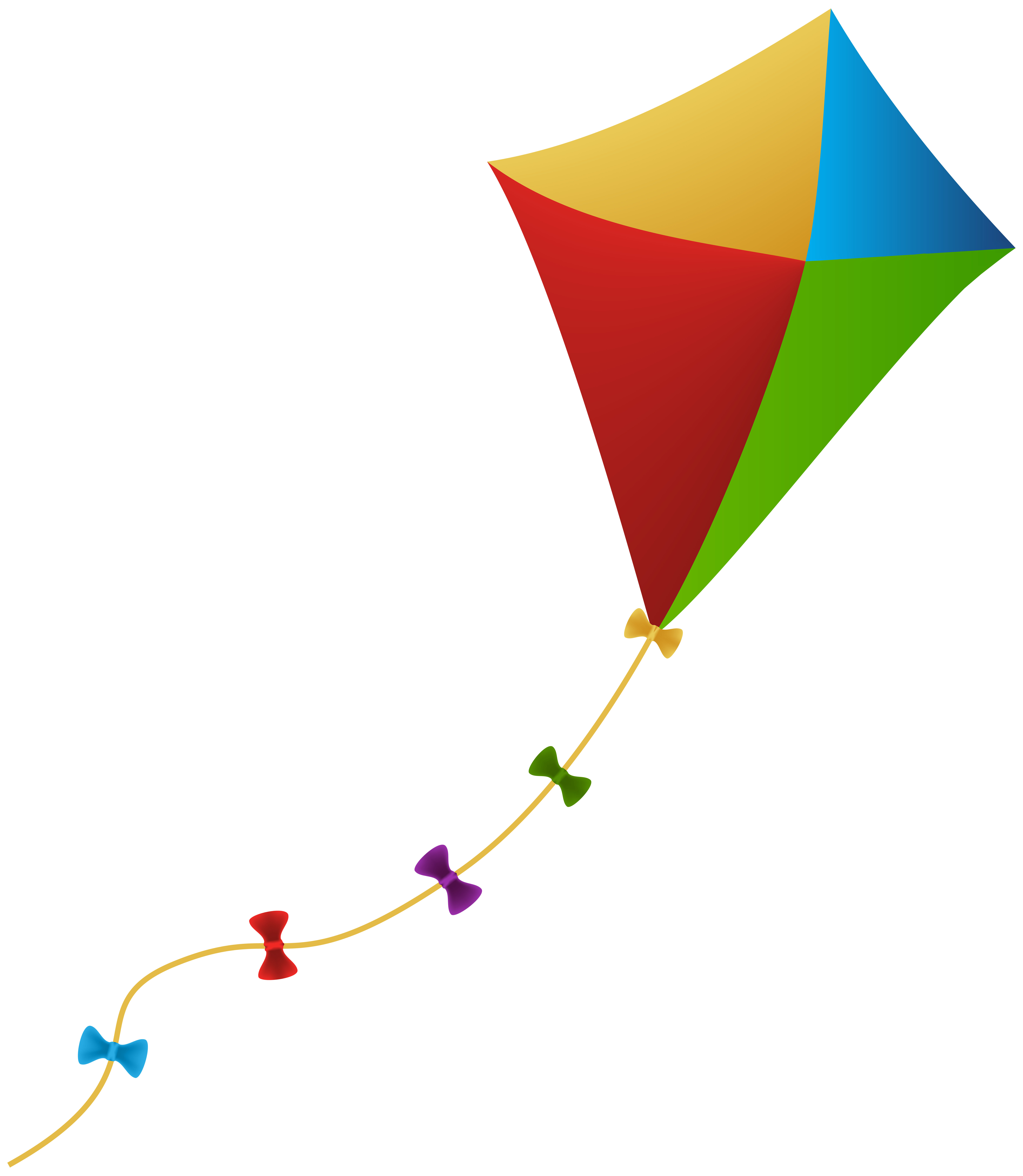 Kite PNG Clip Art Image.
