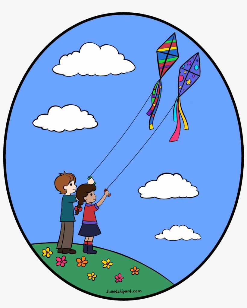 Spring Clipart Kite.