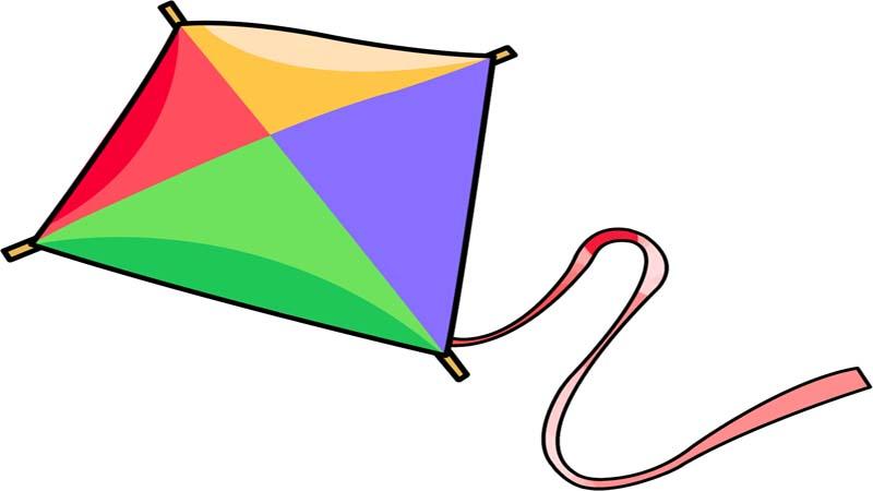 Kite Clipart Free.