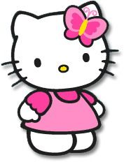 Free Hello kitty Clip.