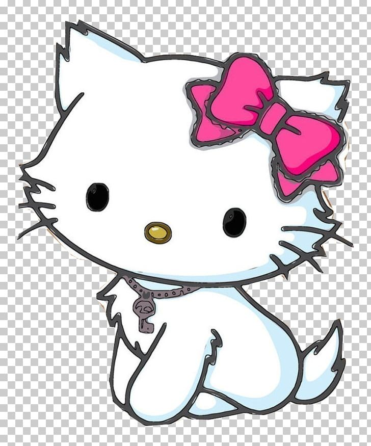 Hello Kitty Cat Kitten Drawing Character PNG, Clipart.