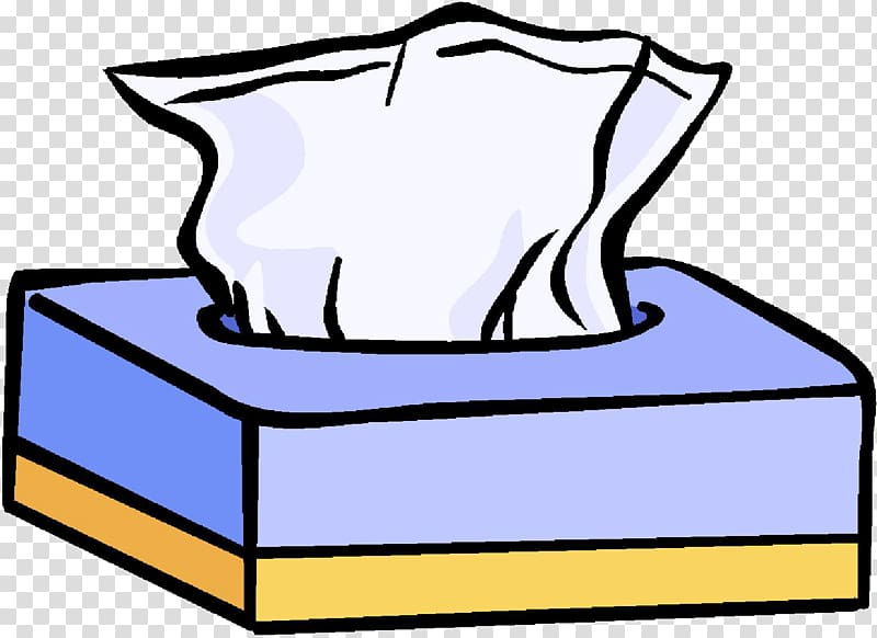 Facial Tissues Kleenex , sneeze transparent background PNG clipart.