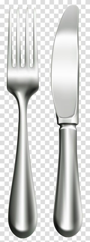 Fork Knife Spoon Tableware, Cutlery fork transparent.
