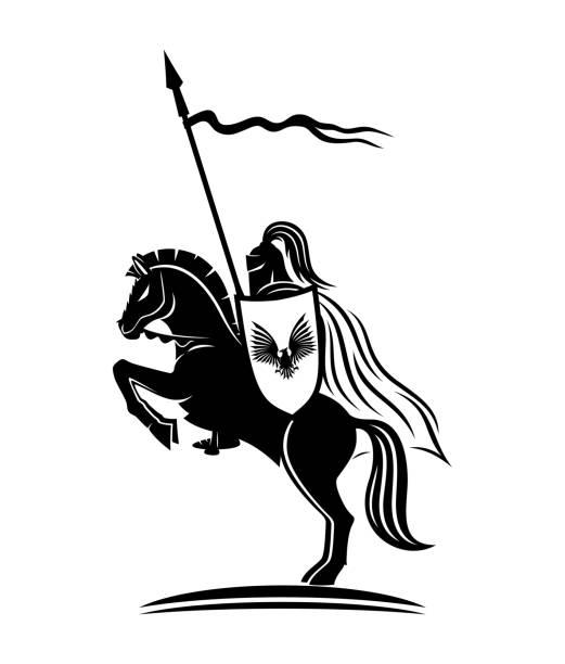 Best Knight Illustrations, Royalty.