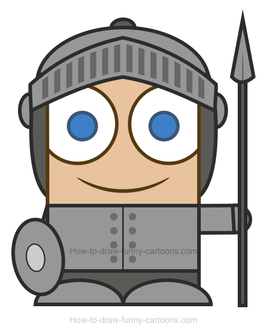 Knight clipart 3.