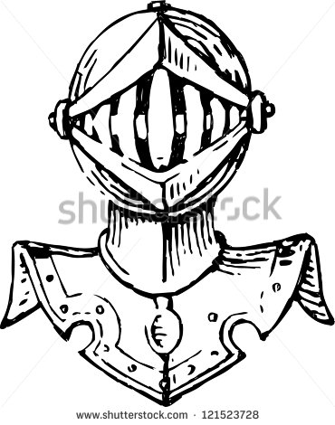 Knight Head Stock Images, Royalty.