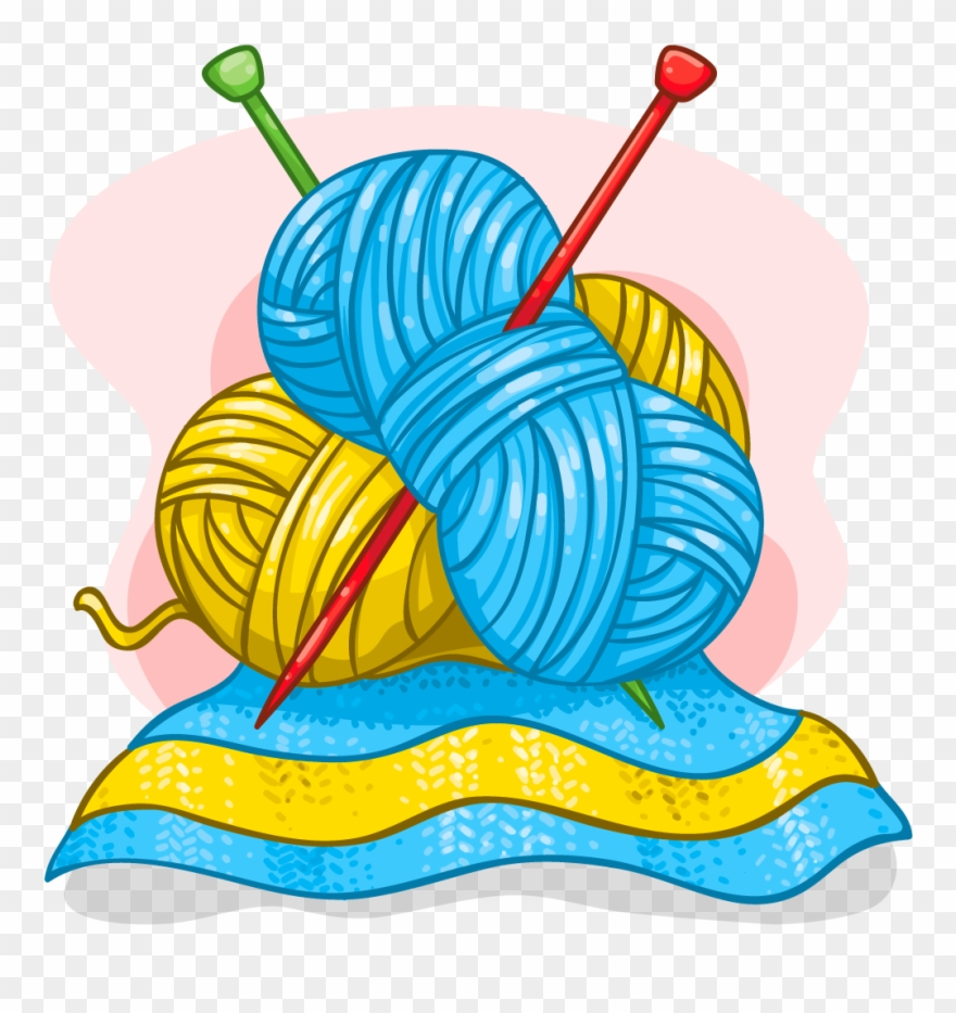 Banner Free Download Clipart Knitting.