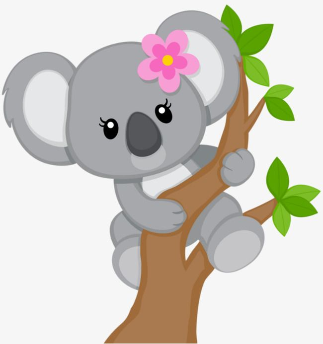 Cartoon Koala.