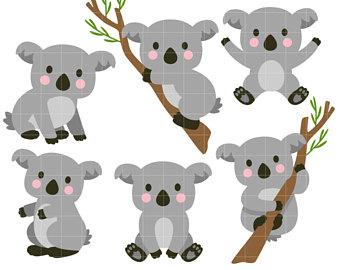 Clipart koalas » Clipart Station.