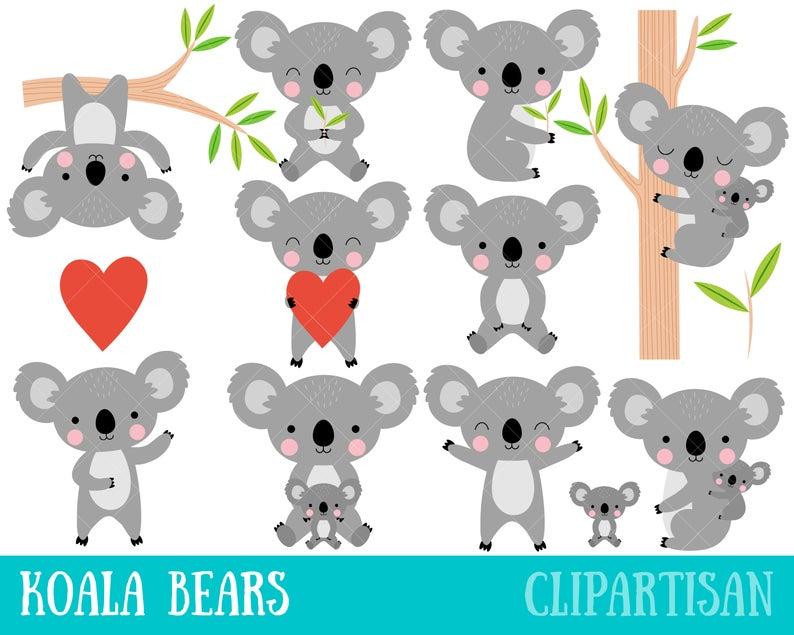 Koala Clipart.