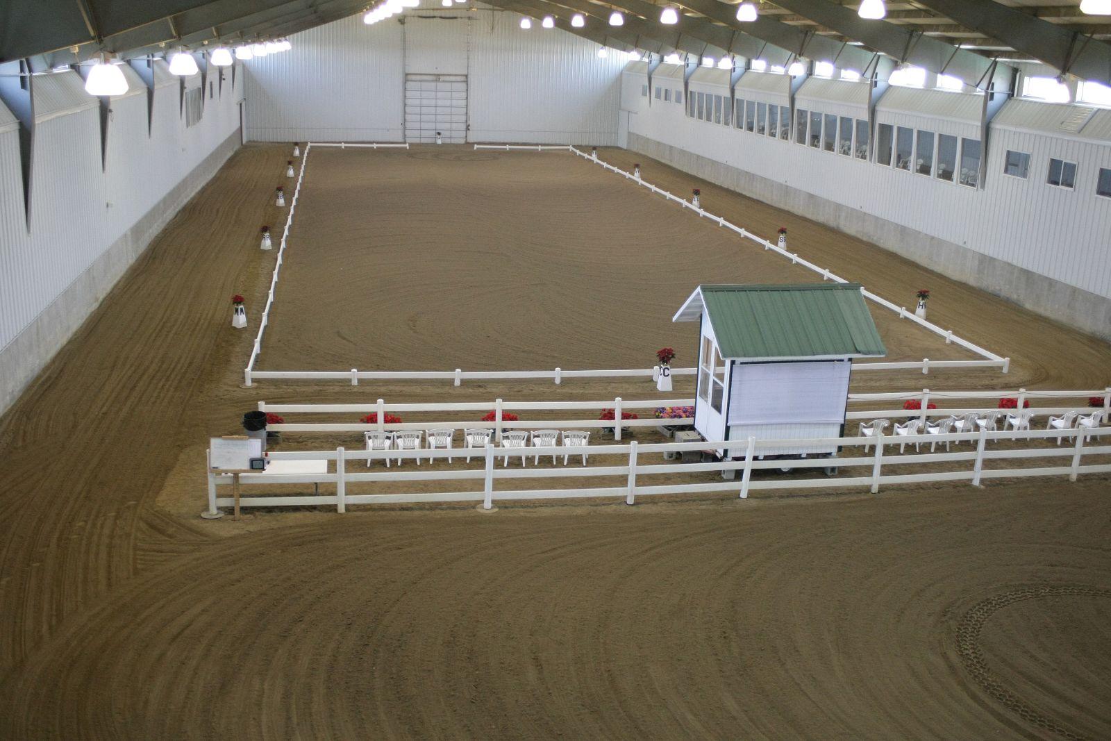 Dressage Arena.