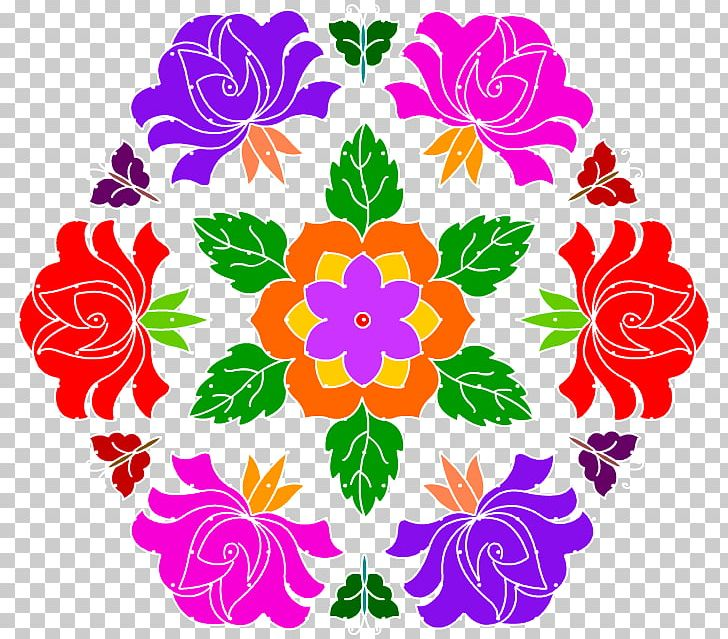 Flower Art Floral Design Kolam PNG, Clipart, Art, Artwork.