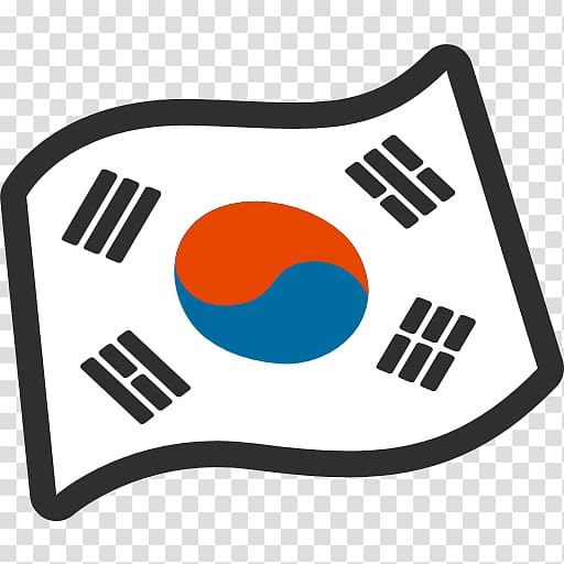 Flag of South Korea Flag of North Korea, korean transparent.