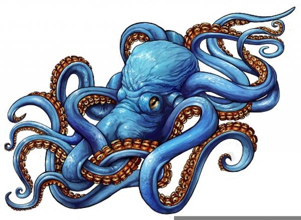 Kraken Clipart.