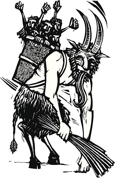 Best Krampus Illustrations, Royalty.