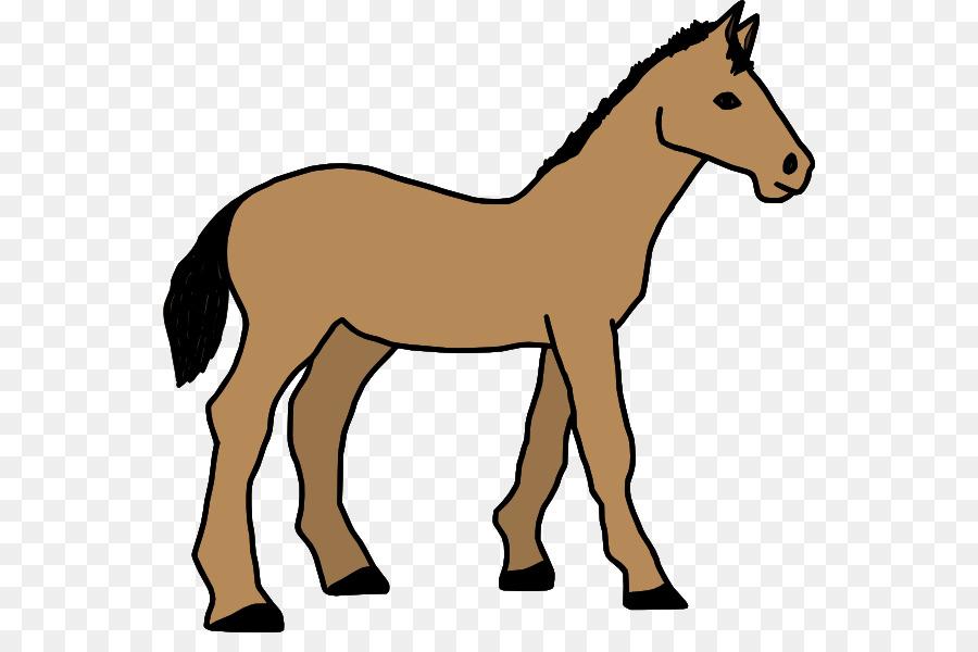 Horse Cartoon clipart.