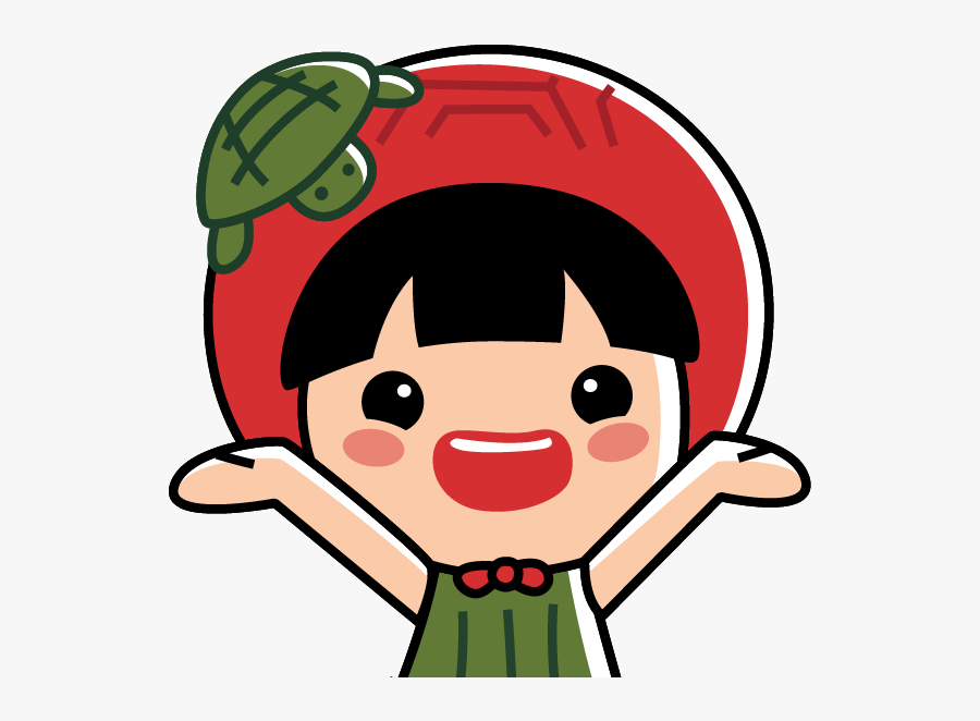 Ang Ku Kueh Girl Sticker , Free Transparent Clipart.