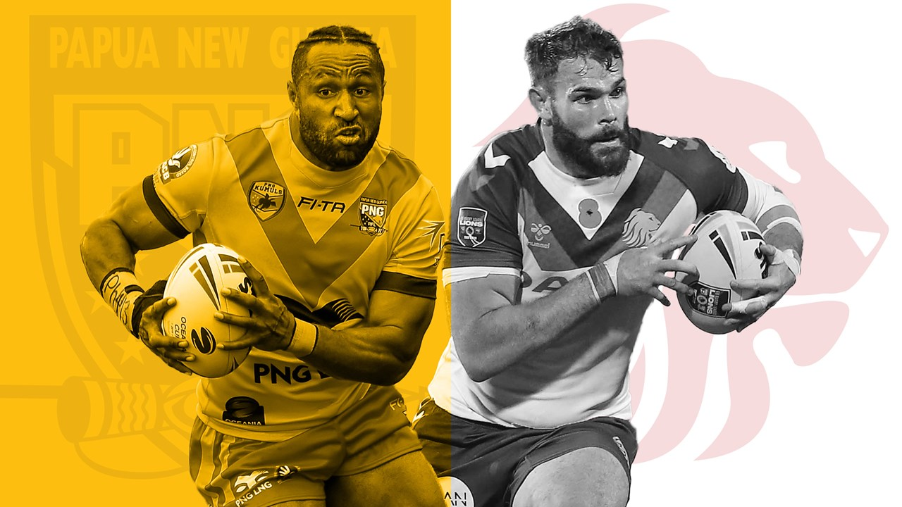 Papua New Guinea Kumuls v Great Britain Lions preview.