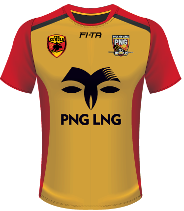 Papua New Guinea training shirt.