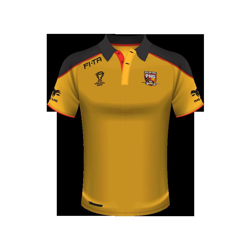 Papua New Guinea polo shirt.