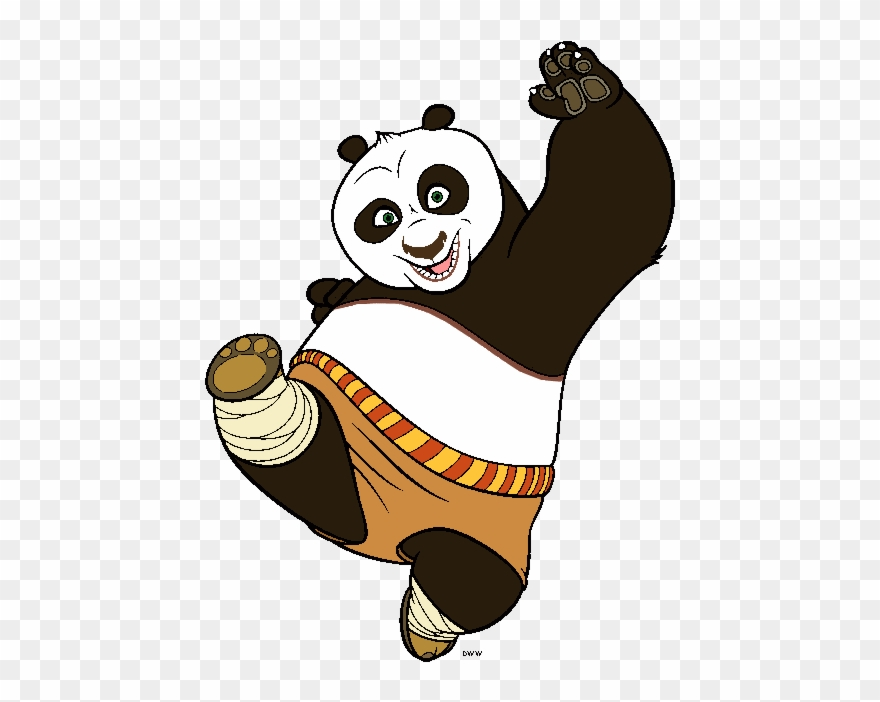 Photo Collection Kung Fu Panda Vector.