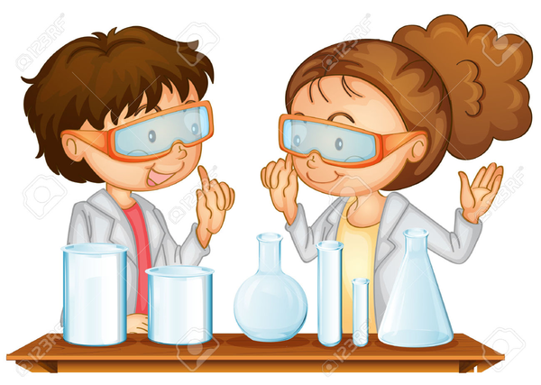 Lab Scientist Clipart.