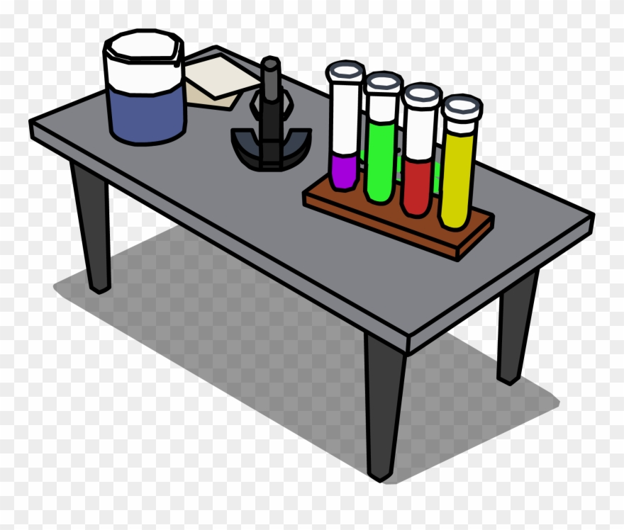 Science Table Png.