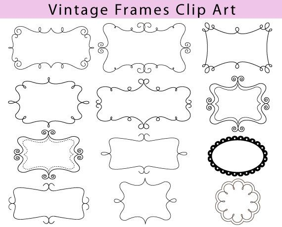 digital frame clipart free - Clipground