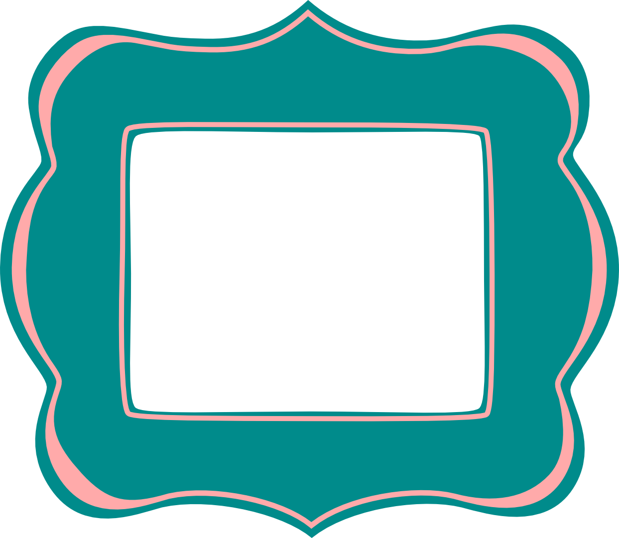 Fancy Frames Clip Art.