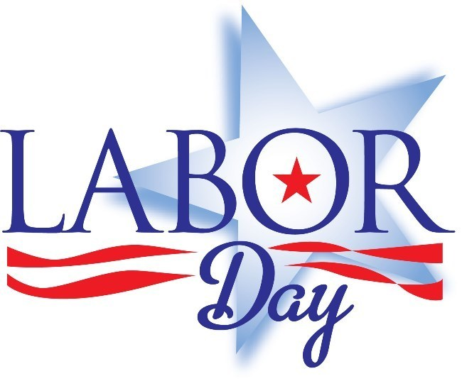 Clipart Labor Day 2019 USA Free Black and White Images HD Download.