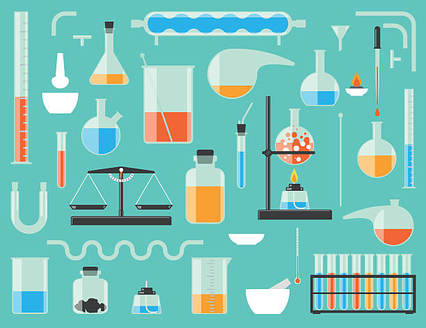 Best Laboratory Equipment Illustrations, Royalty.