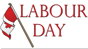 Labour Day Canada Clipart.