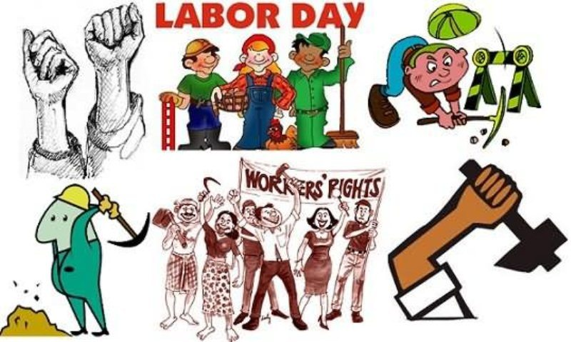 Latest Happy Labor Day Clipart Images Free Download 2019.
