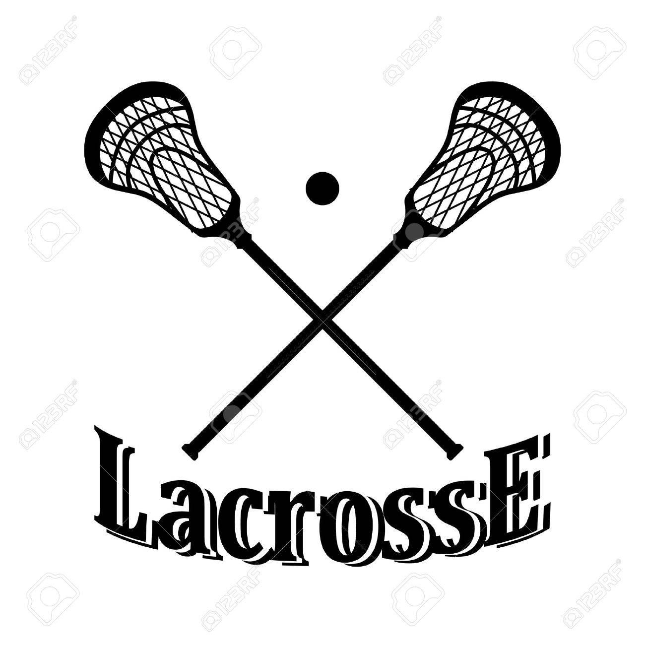 197 Lacrosse Stick free clipart.