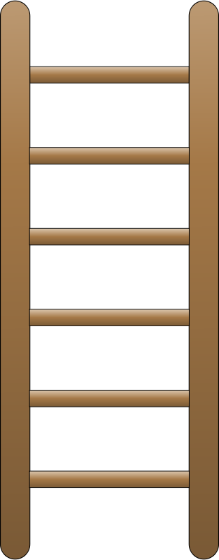 Free Clipart: Ladder (flat).