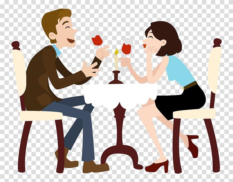 Tinder Speed dating First date, Men Make Dinner Day.