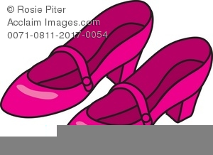 Free Clipart Of Ladies Shoes.