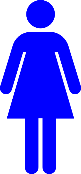 Female Toilet Sign Clip Art at Clker.com.