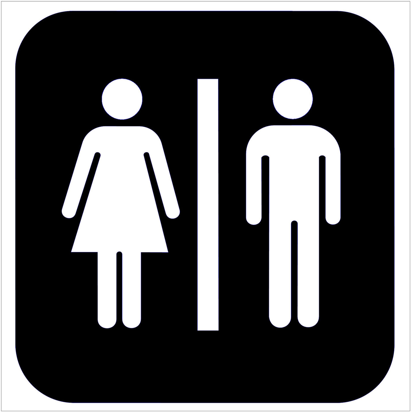 Clipart Ladies Toilet Sign Clipground - Ladies bathroom sign