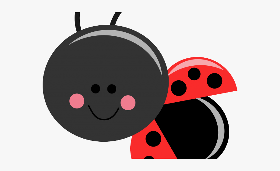 Lady Beetle Clipart Face.