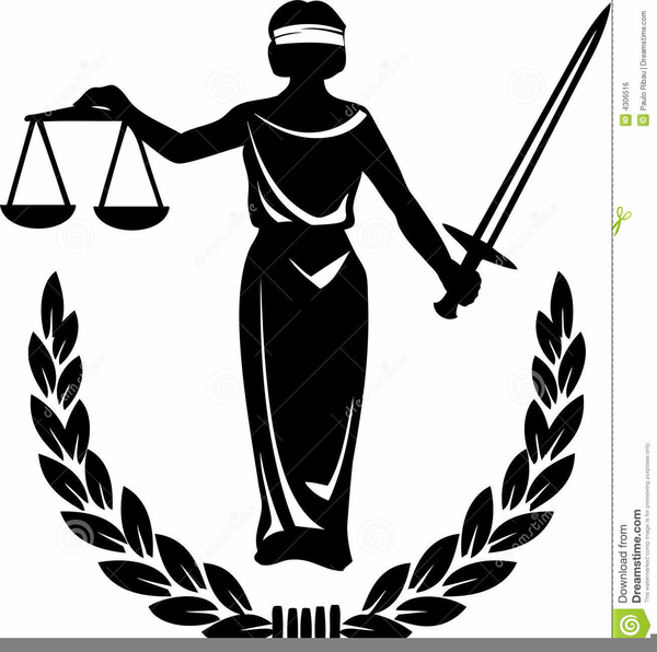 Free Clipart Lady Justice.