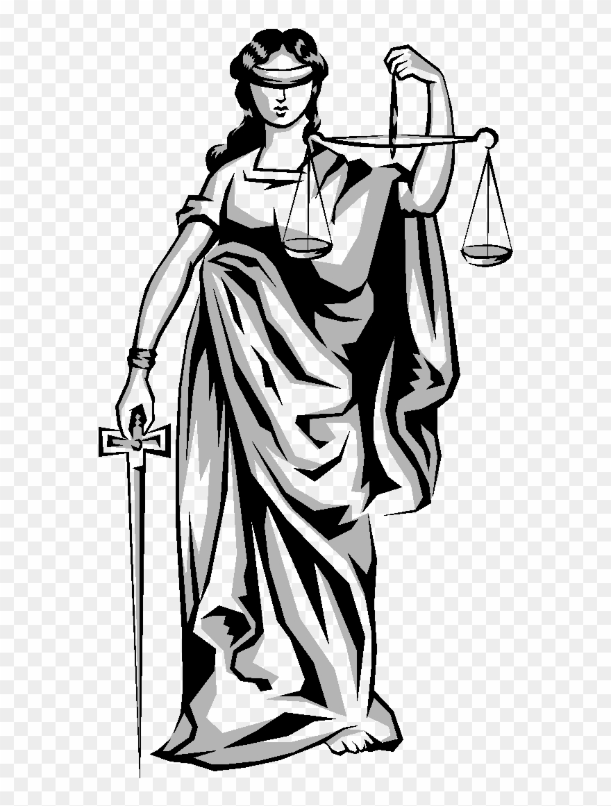 Weighing Scales Lady Justice Clipart (#4441767).