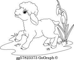 Lamb Clip Art.