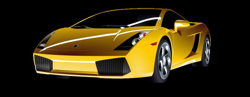 Free Clipart: Lamborghini Gallardo.