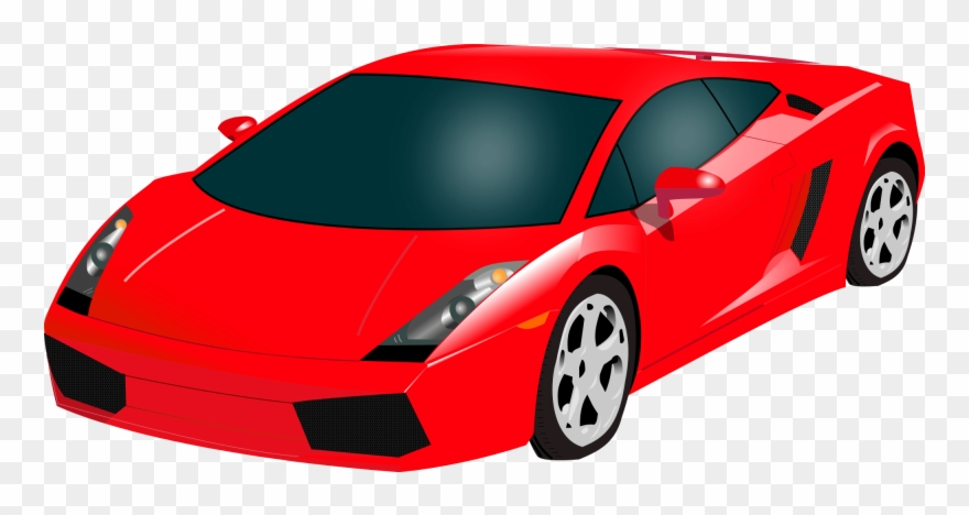 Lamborghini Red Icon Clipart (#1752560).