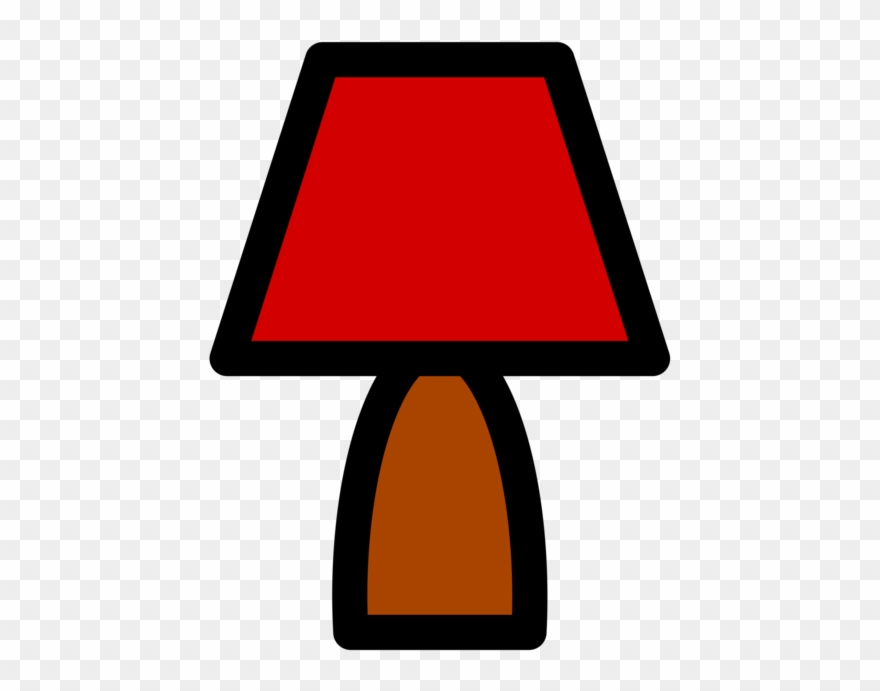Clipart Lamp Icon.